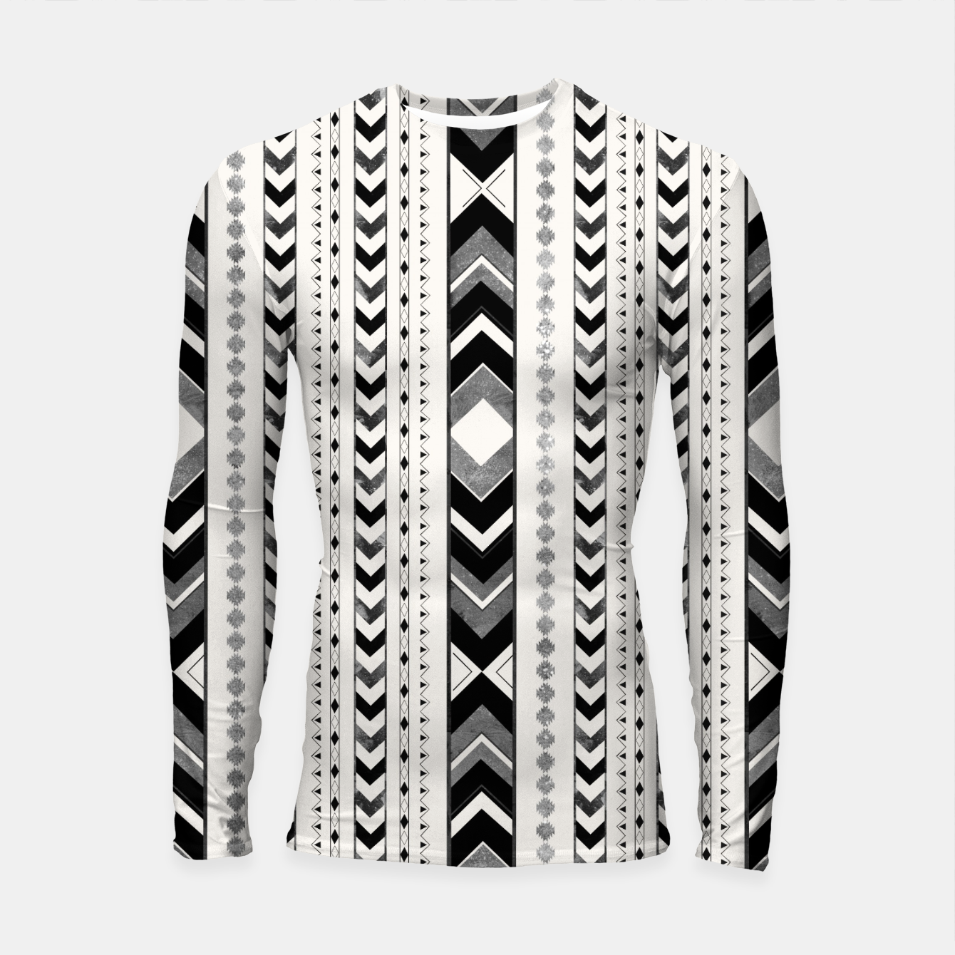 Image de Tribal Arrow Boho Pattern #5 #aztec #decor #art Longsleeve rashguard - Live Heroes