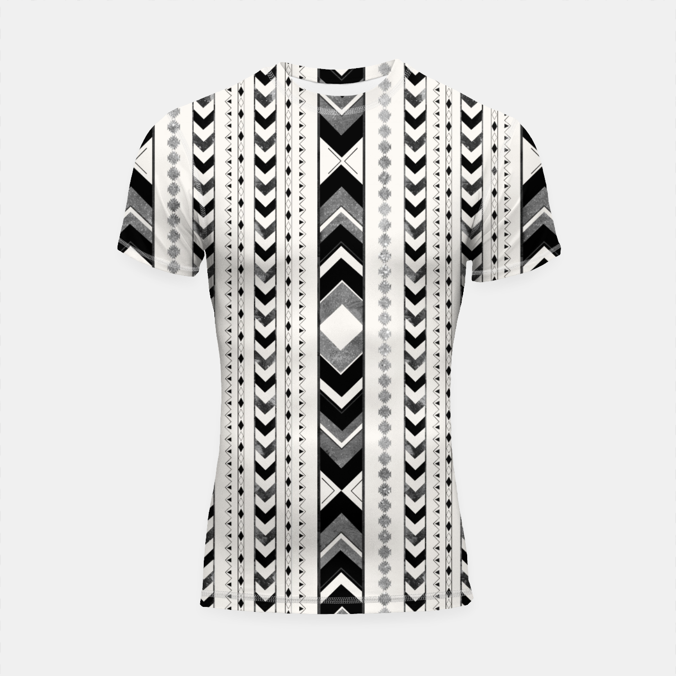 Image of Tribal Arrow Boho Pattern #5 #aztec #decor #art Shortsleeve rashguard - Live Heroes