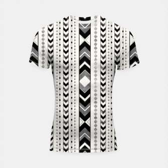 Tribal Arrow Boho Pattern #5 #aztec #decor #art Shortsleeve rashguard miniature