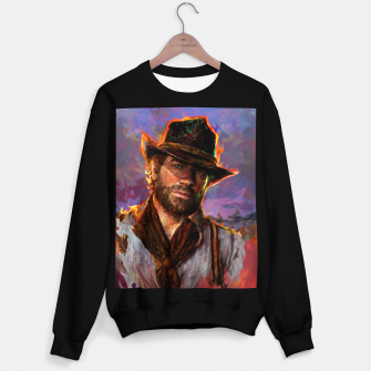 red dead redemption Sweater regular obraz miniatury