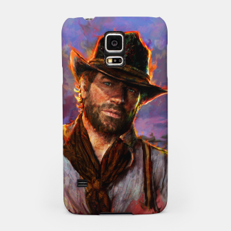 Thumbnail image of red dead redemption Samsung Case, Live Heroes
