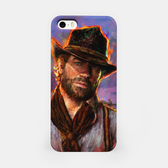 Miniaturka red dead redemption iPhone Case, Live Heroes