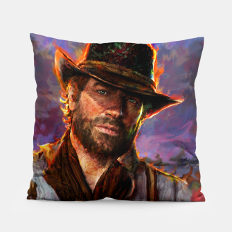 red dead redemption Pillow obraz miniatury