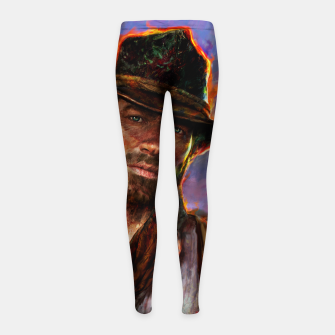 red dead redemption Girl's leggings obraz miniatury