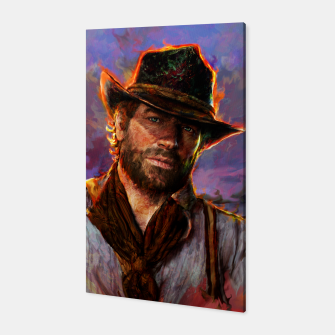 red dead redemption Canvas obraz miniatury