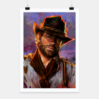 red dead redemption Poster obraz miniatury