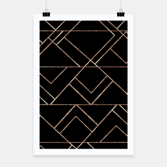 Miniaturka Art Deco Geo Glam #2 #geometric #decor #art Plakat, Live Heroes