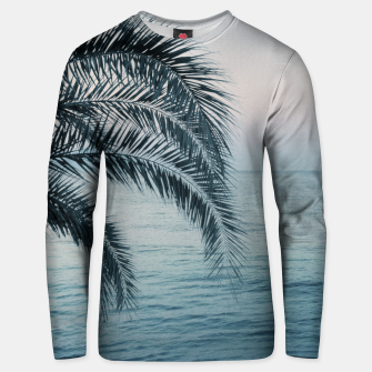 Miniaturka Palm & Ocean Dream #2 #tropical #pastel #wall #decor #art Unisex sweatshirt, Live Heroes