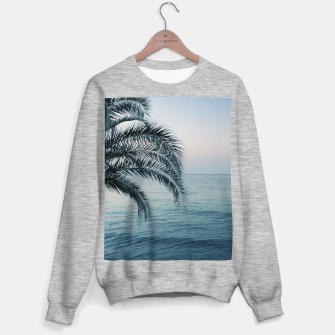 Miniaturka Palm & Ocean Dream #2 #tropical #pastel #wall #decor #art Sweatshirt regulär, Live Heroes