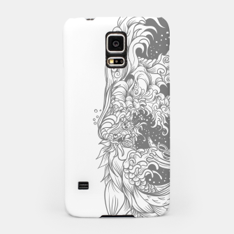 Miniatur Sleave White Samsung Case, Live Heroes