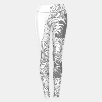 Thumbnail image of Sleave White Leggings, Live Heroes