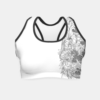 Thumbnail image of Sleave White Crop Top, Live Heroes