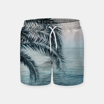 Miniaturka Palm & Ocean Dream #2 #tropical #pastel #wall #decor #art Badeshorts, Live Heroes