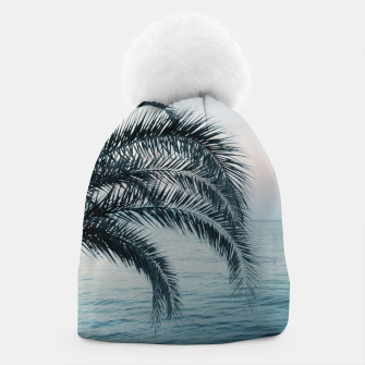 Miniaturka Palm & Ocean Dream #2 #tropical #pastel #wall #decor #art Mütze, Live Heroes