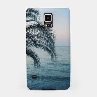 Thumbnail image of Palm & Ocean Dream #2 #tropical #pastel #wall #decor #art Handyhülle für Samsung, Live Heroes