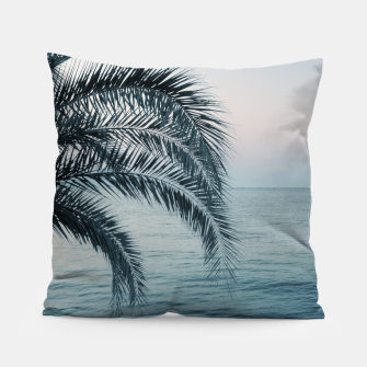 Miniaturka Palm & Ocean Dream #2 #tropical #pastel #wall #decor #art Kissen, Live Heroes