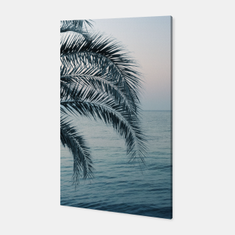 Miniaturka Palm & Ocean Dream #2 #tropical #pastel #wall #decor #art Canvas, Live Heroes
