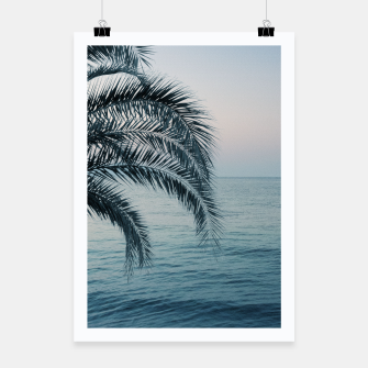 Miniaturka Palm & Ocean Dream #2 #tropical #pastel #wall #decor #art Plakat, Live Heroes