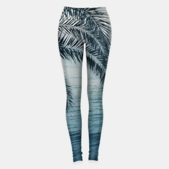 Miniaturka Palm & Ocean Dream #2 #tropical #pastel #wall #decor #art Leggings, Live Heroes