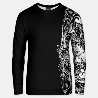 Thumbnail image of Sleeve Dark Unisex sweater, Live Heroes