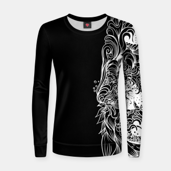 Miniatur Sleeve Dark Women sweater, Live Heroes