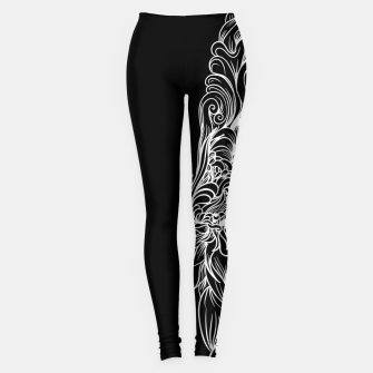Miniatur Sleeve Dark Leggings, Live Heroes
