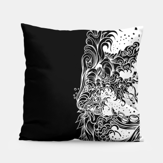 Miniatur Sleeve Dark Pillow, Live Heroes