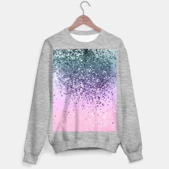 Miniaturka Unicorn Princess Glitter #3 (Photography) #pastel #decor #art  Sweatshirt regulär, Live Heroes