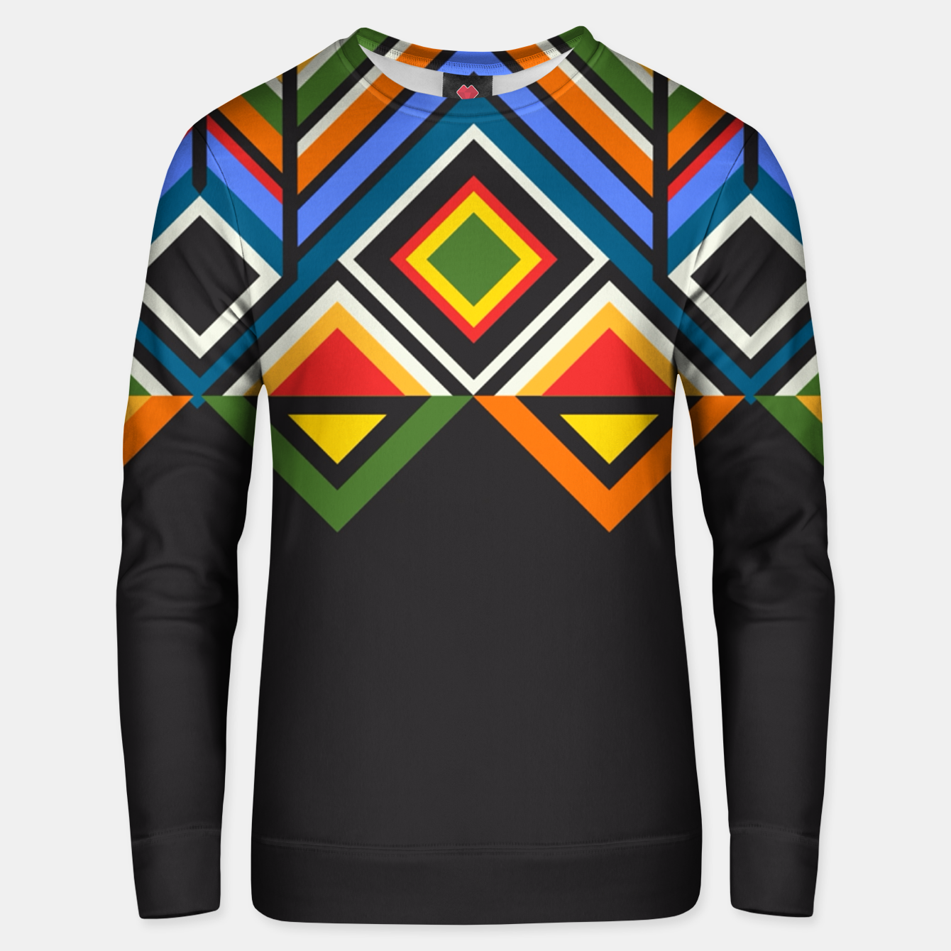 Foto African  Unisex sweater - Live Heroes