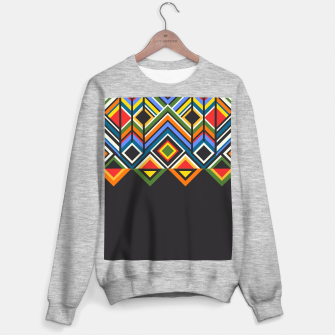 African  Sweater regular Bild der Miniatur