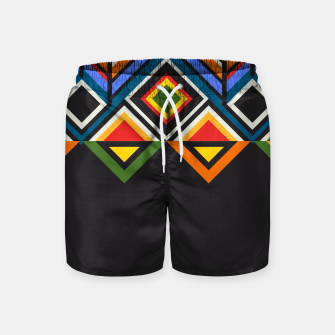 Miniatur African  Swim Shorts, Live Heroes