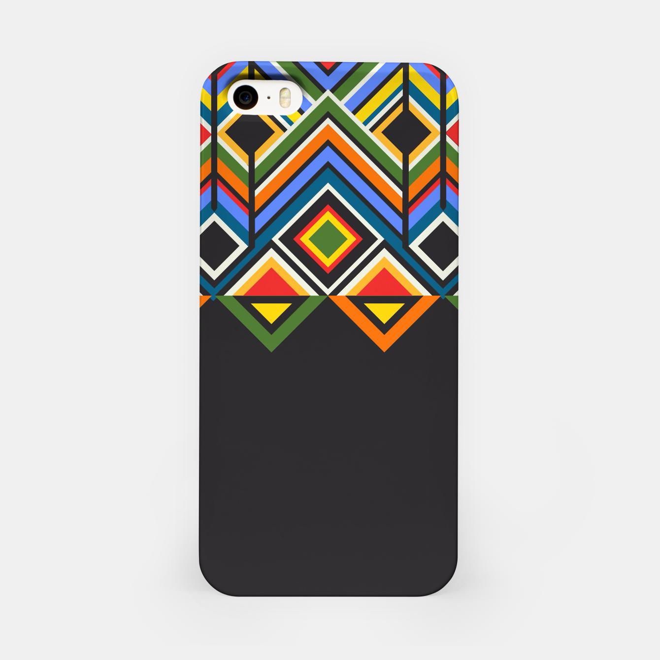 Foto African  iPhone Case - Live Heroes
