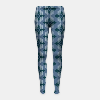 Miniaturka Geometric 2 Girl's leggings, Live Heroes