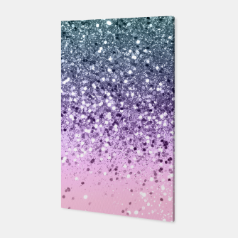 Thumbnail image of Unicorn Princess Glitter #3 (Photography) #pastel #decor #art  Canvas, Live Heroes