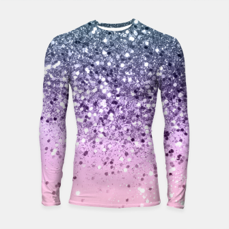 Thumbnail image of Unicorn Princess Glitter #3 (Photography) #pastel #decor #art  Longsleeve rashguard, Live Heroes