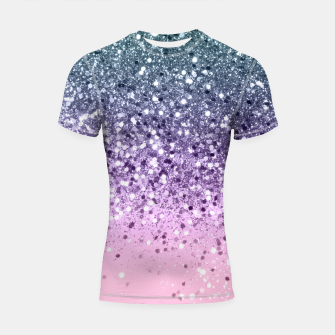 Thumbnail image of Unicorn Princess Glitter #3 (Photography) #pastel #decor #art  Shortsleeve rashguard, Live Heroes