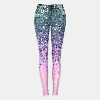 Thumbnail image of Unicorn Princess Glitter #3 (Photography) #pastel #decor #art  Leggings, Live Heroes