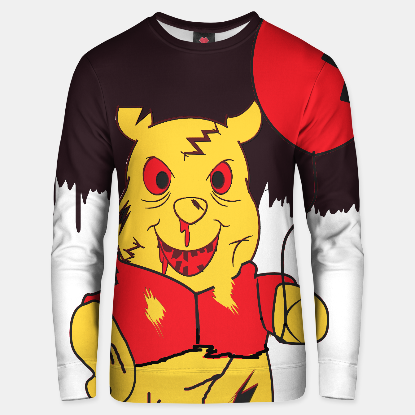 Image of Zoom Zombie Pooh Sweater - Live Heroes