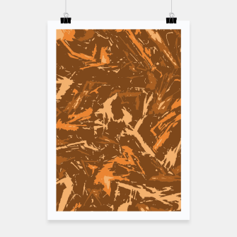Miniaturka Camo in Brown Poster, Live Heroes
