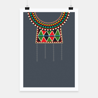 Thumbnail image of Tribal Collar Poster, Live Heroes