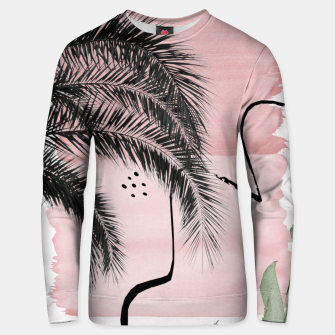 Miniaturka Banana Palms Abstract - Naturelle #2 #minimal #wall #decor #art  Unisex sweatshirt, Live Heroes