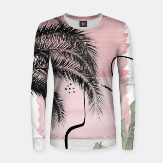 Miniaturka Banana Palms Abstract - Naturelle #2 #minimal #wall #decor #art  Frauen sweatshirt, Live Heroes