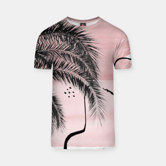 Miniaturka Banana Palms Abstract - Naturelle #2 #minimal #wall #decor #art  T-Shirt, Live Heroes