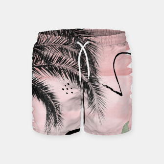 Miniaturka Banana Palms Abstract - Naturelle #2 #minimal #wall #decor #art  Badeshorts, Live Heroes