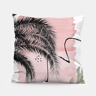 Miniaturka Banana Palms Abstract - Naturelle #2 #minimal #wall #decor #art  Kissen, Live Heroes