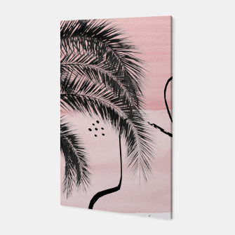 Miniaturka Banana Palms Abstract - Naturelle #2 #minimal #wall #decor #art  Canvas, Live Heroes