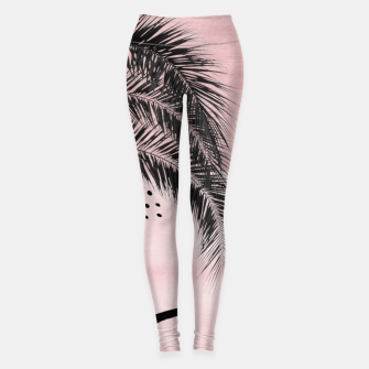Miniaturka Banana Palms Abstract - Naturelle #2 #minimal #wall #decor #art  Leggings, Live Heroes