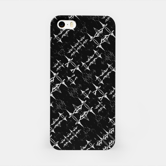Black and White Ethnic Geometric Pattern iPhone Case obraz miniatury