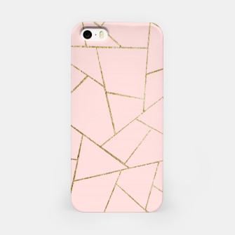 Miniaturka Blush Pink Gold Geometric Glam #1 #geo #decor #art iPhone-Hülle, Live Heroes