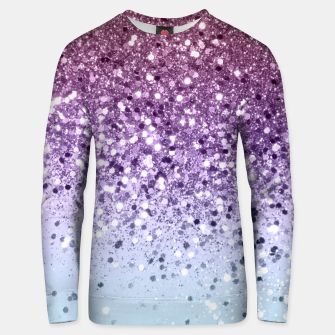 Miniaturka Unicorn Girls Glitter #6 (2019 Version - Faux Glitter) #shiny #pastel #decor #art  Unisex sweatshirt, Live Heroes